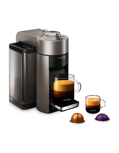 Nespresso Vertuo Coffee and Espresso Machine by DeLonghi, Graphite Metal-GRAPHITE-One Size