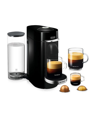 Nespresso Vertuo Plus Deluxe Coffee and Espresso Machine-BLACK-One Size