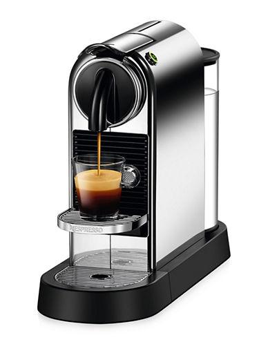 Nespresso Citiz Coffee Machine by DeLonghi-CHROME-One Size