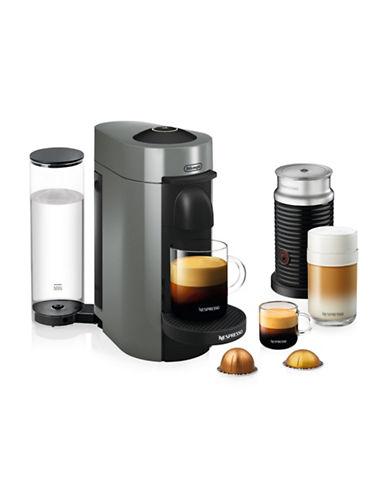 Nespresso Vertuo Plus Bundle Coffee and Espresso Machine-GREY-One Size