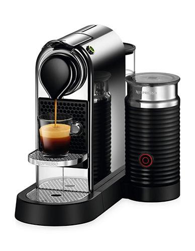 Nespresso Citiz and Milk Coffee Machine by De Longhi-CHROME-One Size