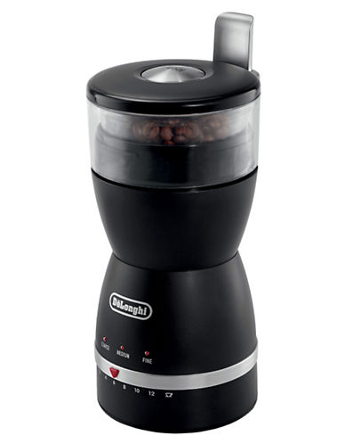 DeLonghi KG49 Electronic 3-setting Coffee Bean Grinder