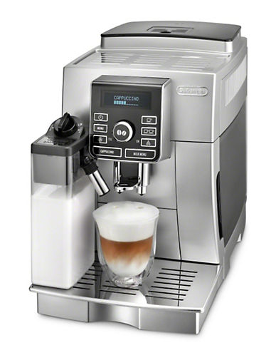 Delonghi Magnifica Super-Automatic Cappuccino Machine-STAINLESS STEEL-One Size