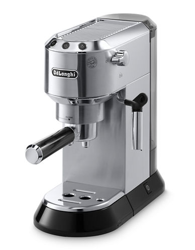 Delonghi Dedica 15-Bar Pump Espresso Maker-STAINLESS STEEL-One Size