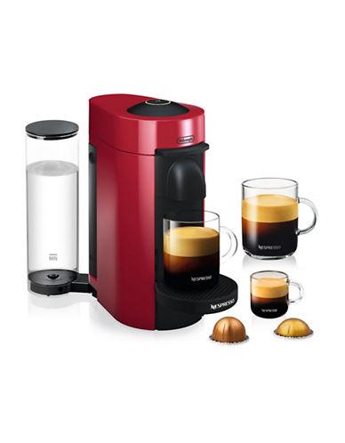 Nespresso Vertuo Plus Coffee and Espresso Machine-RED-One Size