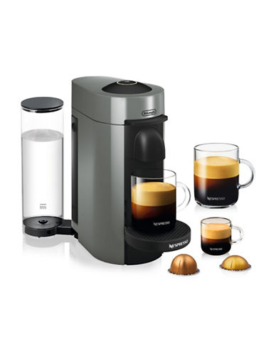 Nespresso Vertuo Plus Coffee and Espresso Machine-GREY-One Size