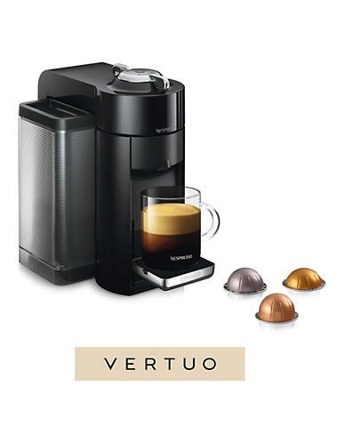 Nespresso Vertuo Coffee Machine by DeLonghi, Black-BLACK-One Size
