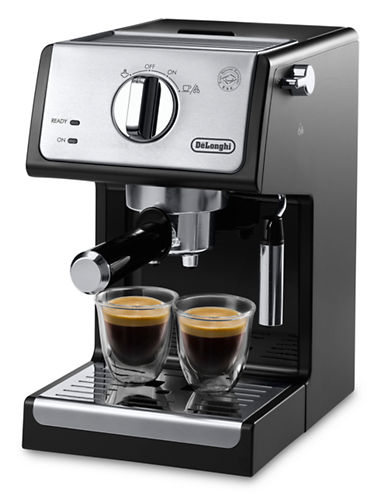 Delonghi Pump Espresso Machine-BLACK-One Size