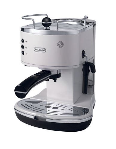 Delonghi Icona Pump Espresso Machine-PEARL WHITE-One Size