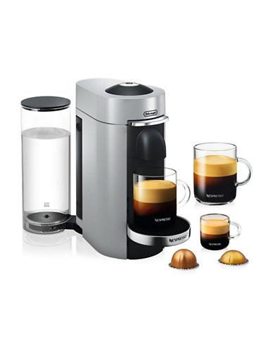 Nespresso Vertuo Plus Deluxe Coffee and Espresso Machine-SILVER-One Size
