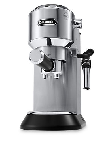 Delonghi Dedica Deluxe Espresso and Cappuccino Machine-STAINLESS STEEL-One Size