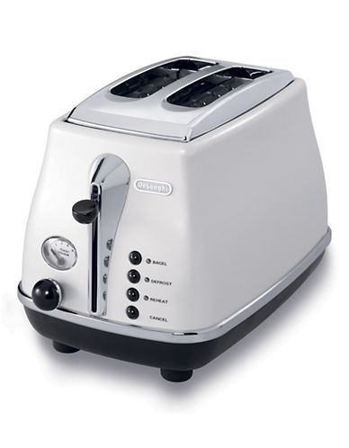 Delonghi ICONA 2-Slice Toster-PEARL WHITE-One Size