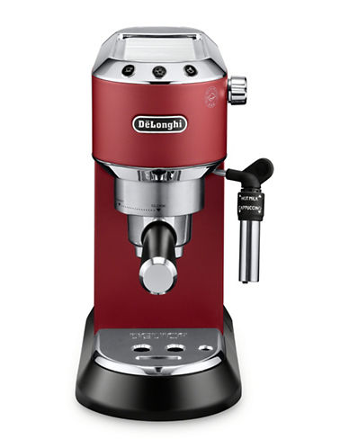 Delonghi Dedica Deluxe Espresso and Cappuccino Machine-RED-One Size