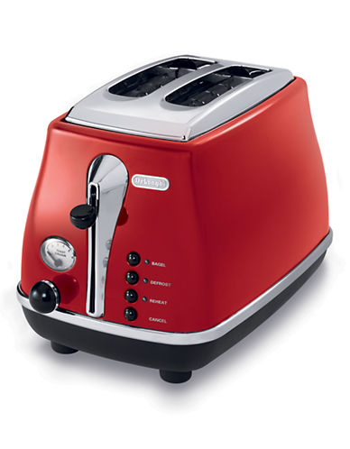 Delonghi ICONA 2-Slice Toster-RED-One Size