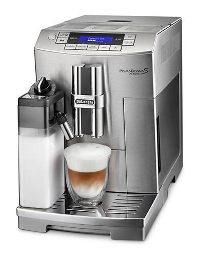 Delonghi Prima Donna Deluxe Super-Automatic Espresso Machine-STAINLESS STEEL-One Size