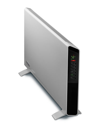 Delonghi DeLonghi SlimStyle Digital 1500W Convection Panel Heater with Dual Fan-WHITE-One Size