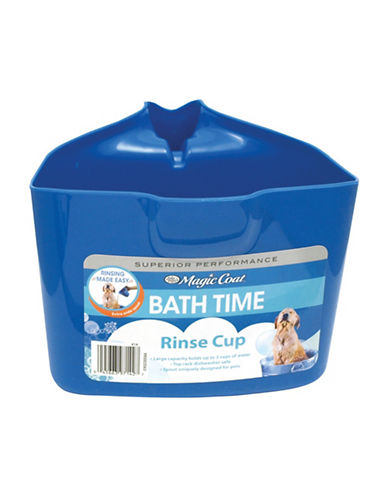 Four Paws Bath Rinse Cup-BLUE-One Size