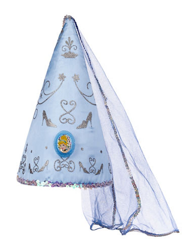 Disney Cinderella Hat-BLUE-One Size