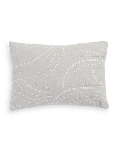 Barbara Barry Decorative Throw Cushion-SILVER-One Size