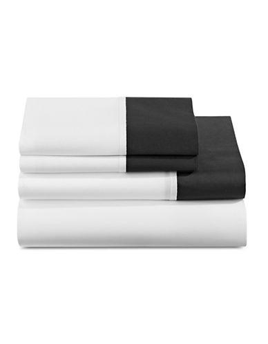Kate Spade New York Grace Four-Piece Sheet Set-BLACK-Queen