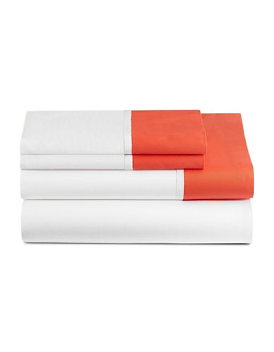 Kate Spade New York Grace Four-Piece Sheet Set-MARASCHINO-Queen