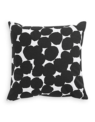 Kate Spade New York Random Dot Cushion-BLACK-18x18