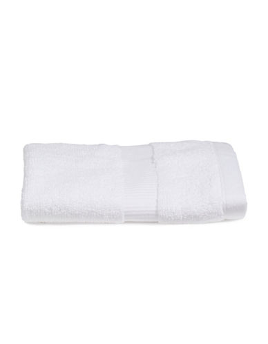 Kate Spade New York Chattam Stripe Cotton Washcloth-WHITE-Washcloth