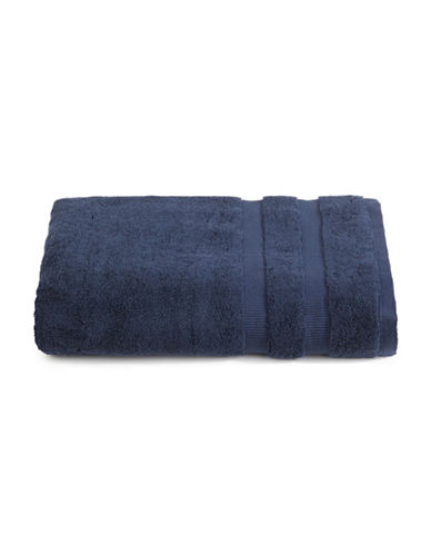 Kate Spade New York Chattam Stripe Cotton Bath Towel-NAVY-Bath Towel