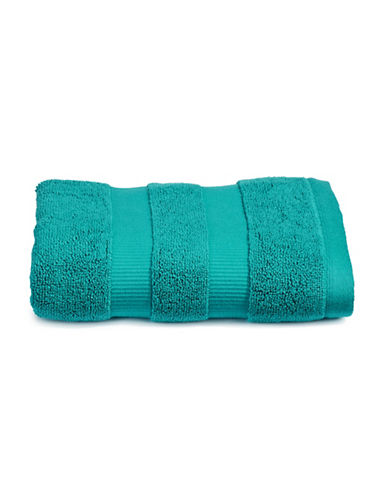 Kate Spade New York Chattam Stripe Cotton Hand Towel-CARIBBEAN-Hand Towel