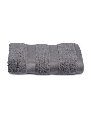 Kate Spade New York Chattam Stripe Cotton Hand Towel-GRAPHITE-Hand Towel