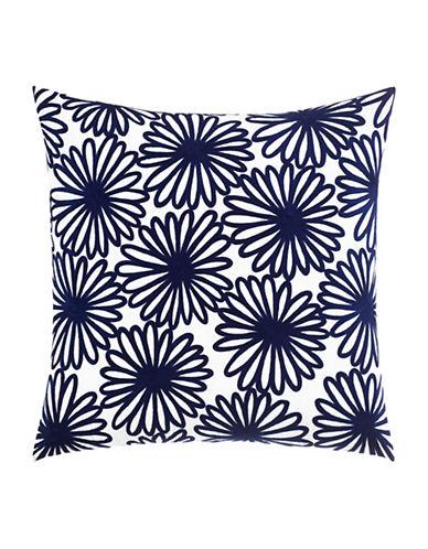 Kate Spade New York Floral Decorative Pillow-NAVY-20x20