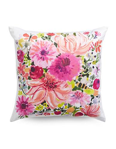 Kate Spade New York Silk Blend Dhalia Cushion-PINK-20x20