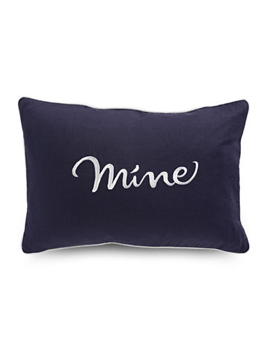 Kate Spade New York Mine Rectangular Pillow-NAVY-One Size