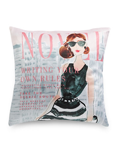 Kate Spade New York Write Your Own Rules Pillow-MULTI-20x20