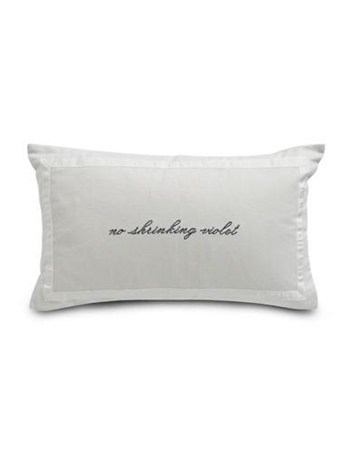 Kate Spade New York Printed Cushion-GREY-12x20