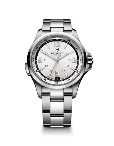 Victorinox Swiss Army Night Vision-SILVER-One Size