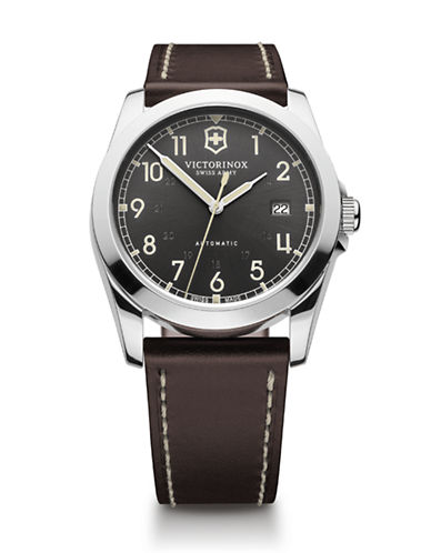 Victorinox Swiss Army Infantry Watch-BROWN-One Size