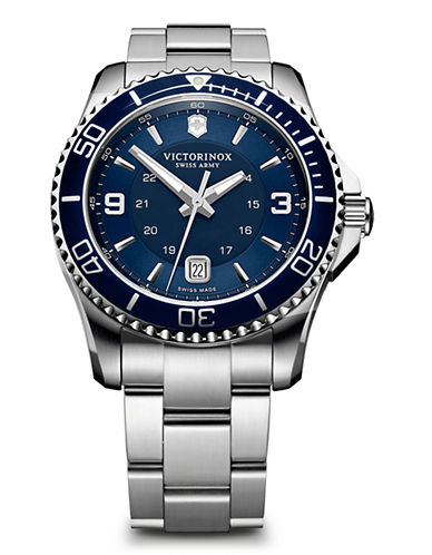 Victorinox Swiss Army Mens Maverick GS Watch-BLUE-One Size