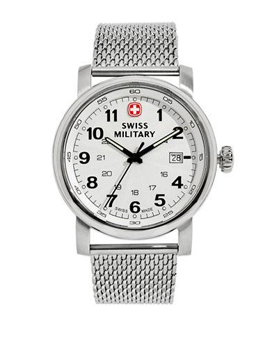 Swiss Military Urban Classic Bracelet Watch-SILVER-One Size