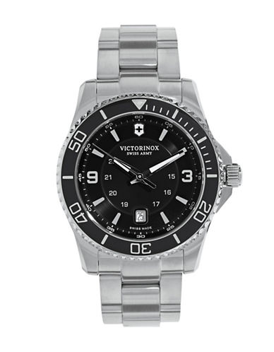 Victorinox Swiss Army Maverick Stainless Steel Watch-SILVER-One Size