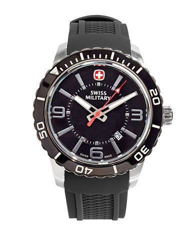 Swiss Military Roadster Dial Watch-BLACK-One Size