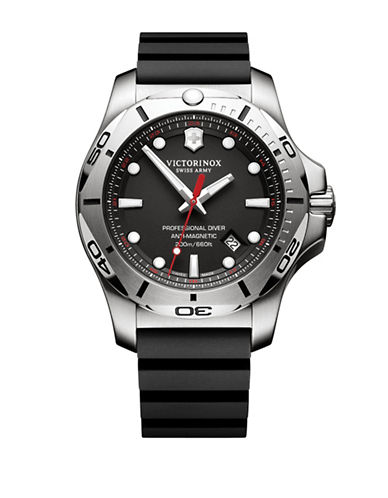 Victorinox Swiss Army I.N.O.X. 200m Pro Diver Watch-BLACK-One Size