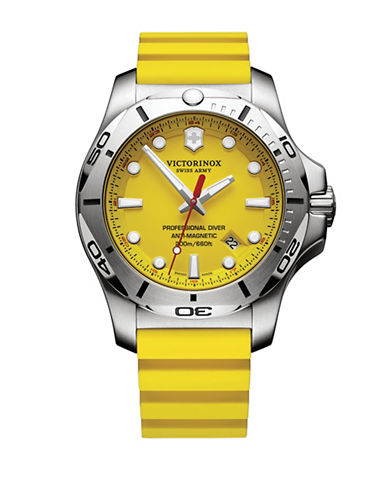 Victorinox Swiss Army I.N.O.X. 200m Pro Diver Watch-YELLOW-One Size