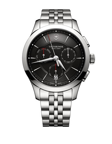 Victorinox Swiss Army Alliance Chronograph Watch-BLACK-One Size