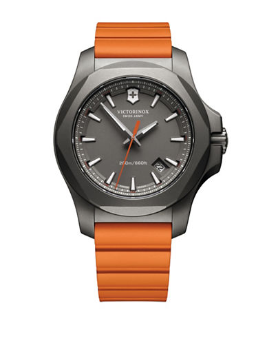 Victorinox Swiss Army I.N.O.X. Titanium Watch-ORANGE-One Size