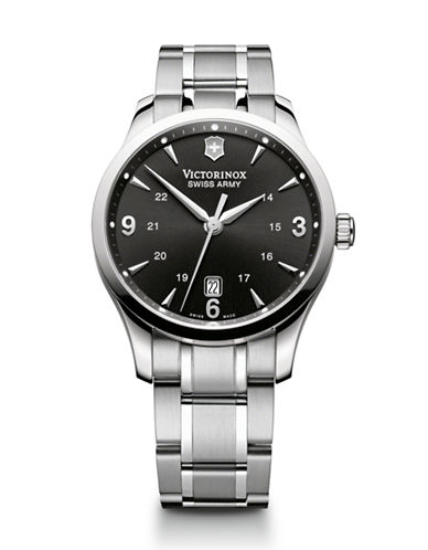 Victorinox Swiss Army Alliance Watch-SILVER-One Size