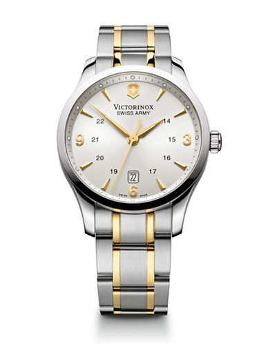 Victorinox Swiss Army Chrono Classic Watch-TWO TONE-One Size