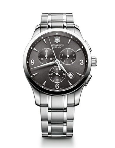 Victorinox Swiss Army Chrono Classic-SILVER-One Size