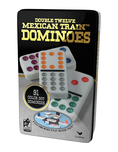 Kroeger Double 12 Mexican Train Dominoes Set-MULTI-One Size 88668401_MULTI_One Size