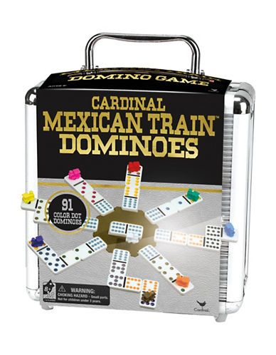 Kroeger Cardinal Mexican Train Dominoes Set-MULTI-One Size 88667817_MULTI_One Size